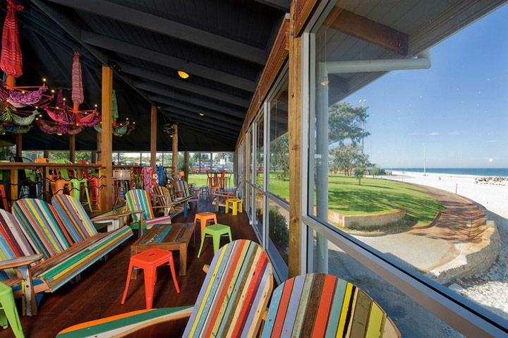 BEACH BARS! Clancy's Fish Bar by Paul Burnham Architect, Perth - Australia