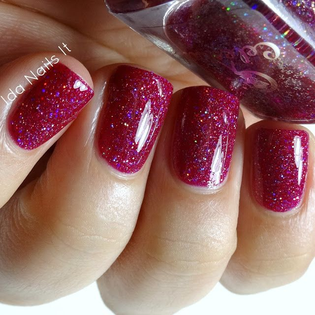 Ida Nails It: Celestial Cosmetics The Santamental Collection plus Oct, Nov, Dec, and Christmas LEs: Swatches and Review