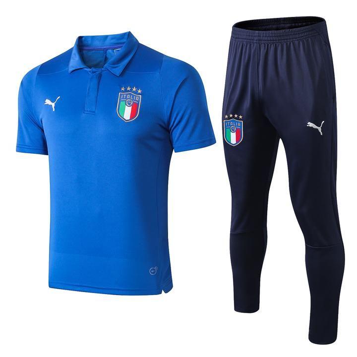 Italy national football team Italia Gli Azzurri Puma 2018-19 ...