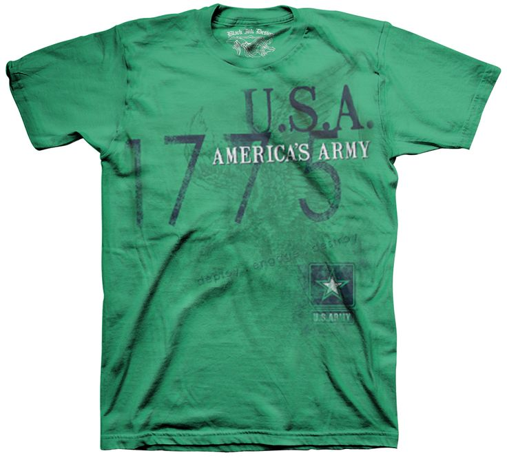 Black Ink Design - America's Army, $21.95 (http://blackinktees.com/americas-army/)  Part of our #Army #shirt catalog