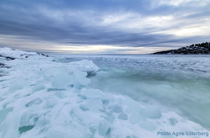 Much ice in the ocean! by Agne Säterberg