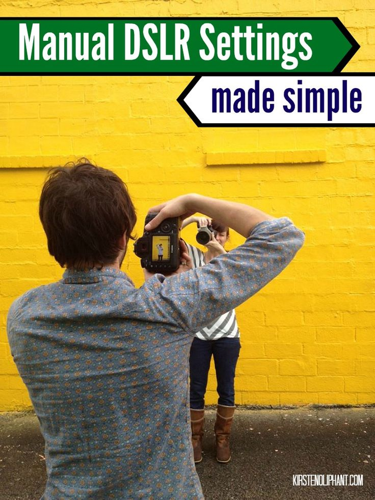 Don't be scared to put your camera in manual mode! Easy tips for learning to master manual mode in your photography.