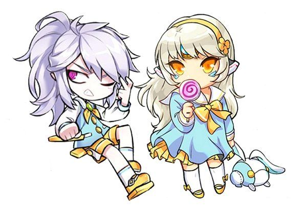 Add and Eve (Elsword) || https://mobile.twitter.com/g_ieep/media