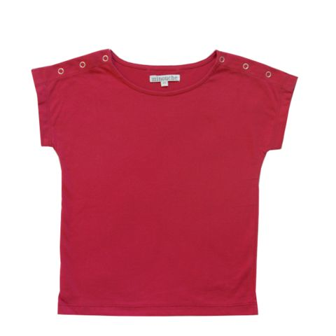 Minouche_Bella t-shirt - persian red - The Child Hood