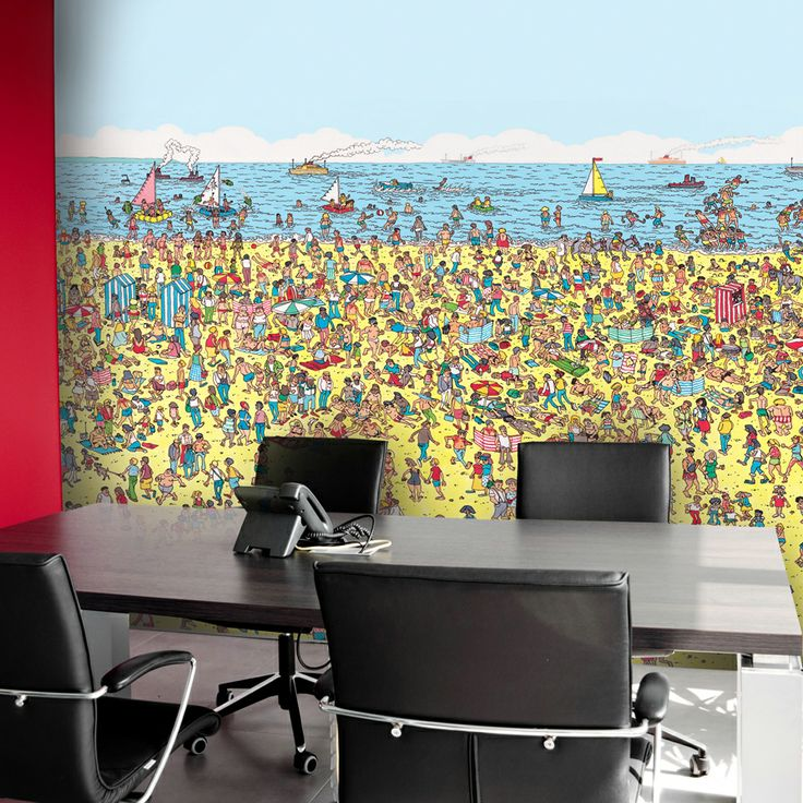 This Whereu0027s Wally? Mural Would Great, If Not A Little Distracting In Any  Boardroom Part 58