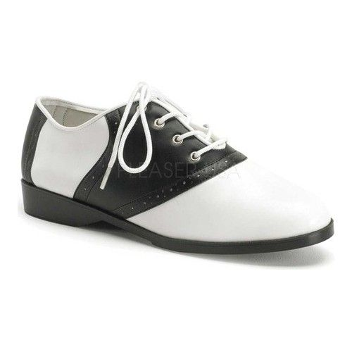 Saddle Shoes: Black & White Saddle Oxford Shoes Womens Funtasma Saddle 50 $37.95 AT vintagedancer.com