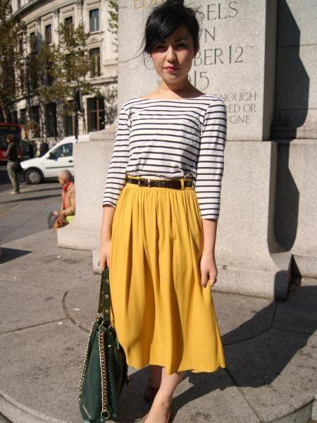 Team Midi skirt | Look What I'm Wearing