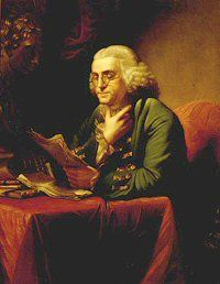 TeachingFranklin.org ~This site has a variety of lesson plans for teaching about Ben Franklin.  K-6 and 7-12  Also excerpts from gazettes, birth and baptism records, Silence Dogood letters, etc. Primary docs.