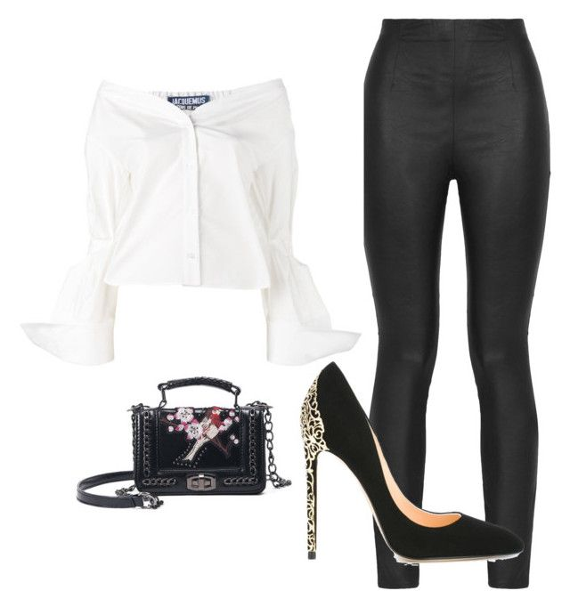 """bel"" by maria-belen-aguirre on Polyvore featuring moda, Armani Jeans, Jacquemus y Cerasella Milano"