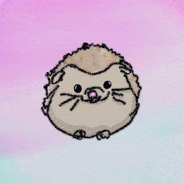 Tan Cute!!! Denle la bienvenida a Erinesto el Erizo.  Busca mas de mis dibujos con el hashtag #Pug5AbiDrawing