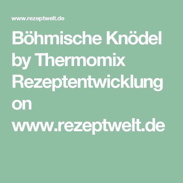 Böhmische Knödel by Thermomix Rezeptentwicklung on www.rezeptwelt.de