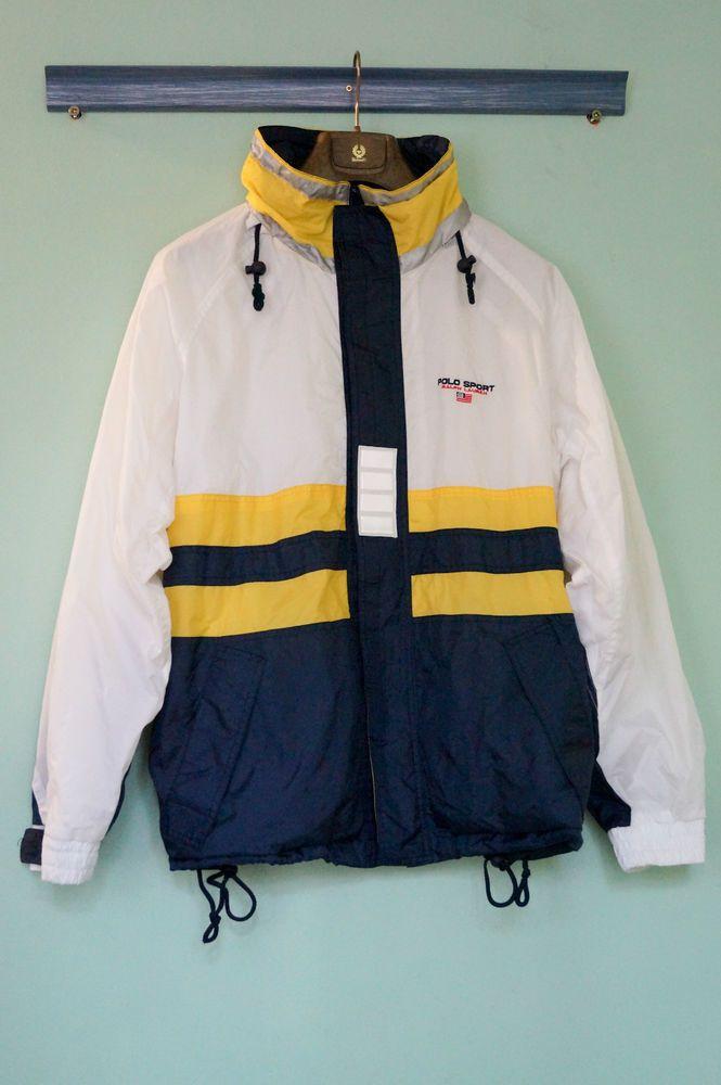 Polo Sport Ralph Lauren 90s vintage reflective Jacket – Size L