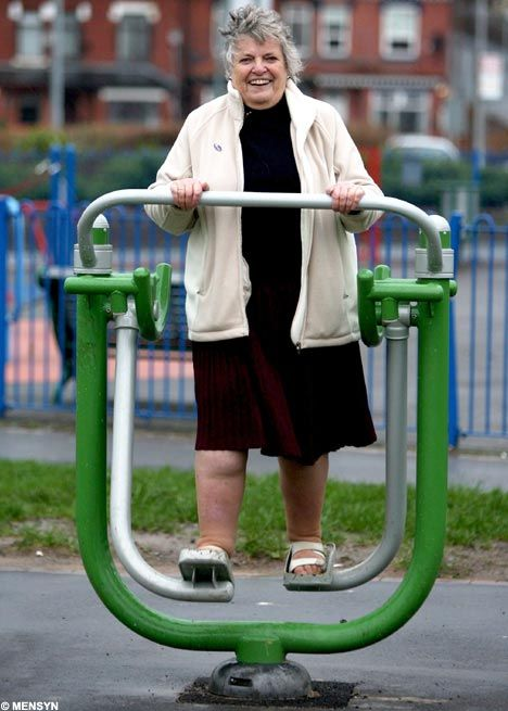 Playtime for Grandma: Council opens new playground for the over 60's