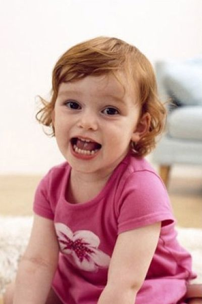Short Hairstyle For kids With Curly hair