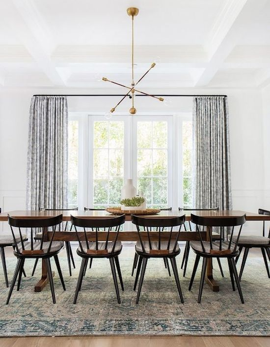10 ideas about rideau scandinave on pinterest rideau for Salle a manger annee 50
