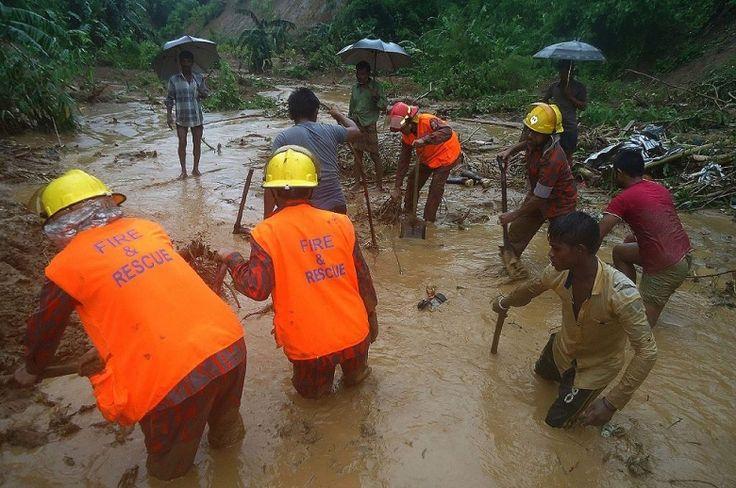 Al menos 111 muertos por las lluvias torrenciales en Bangladés