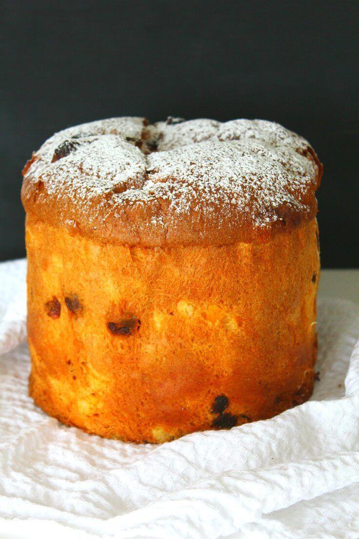 Classic Easy Panettone Cake : theseamanmom