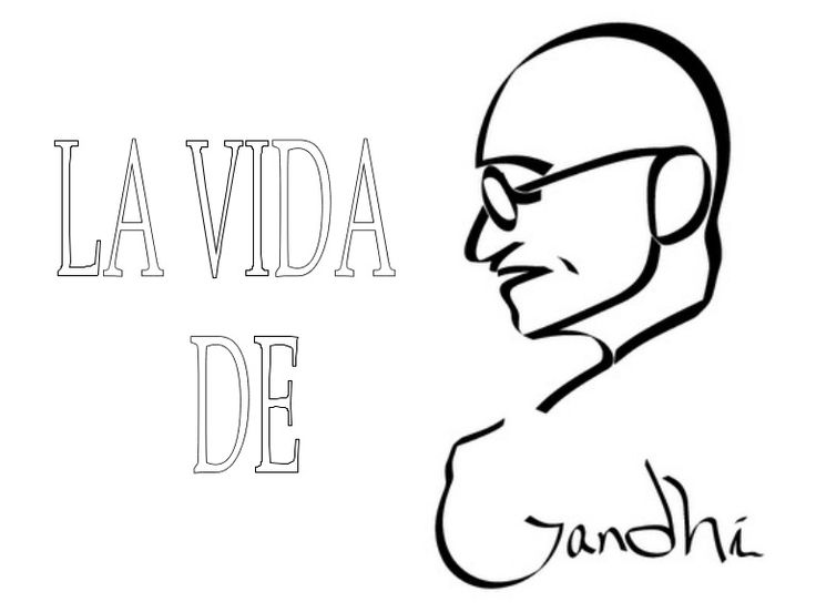 La Vida De Gandhi