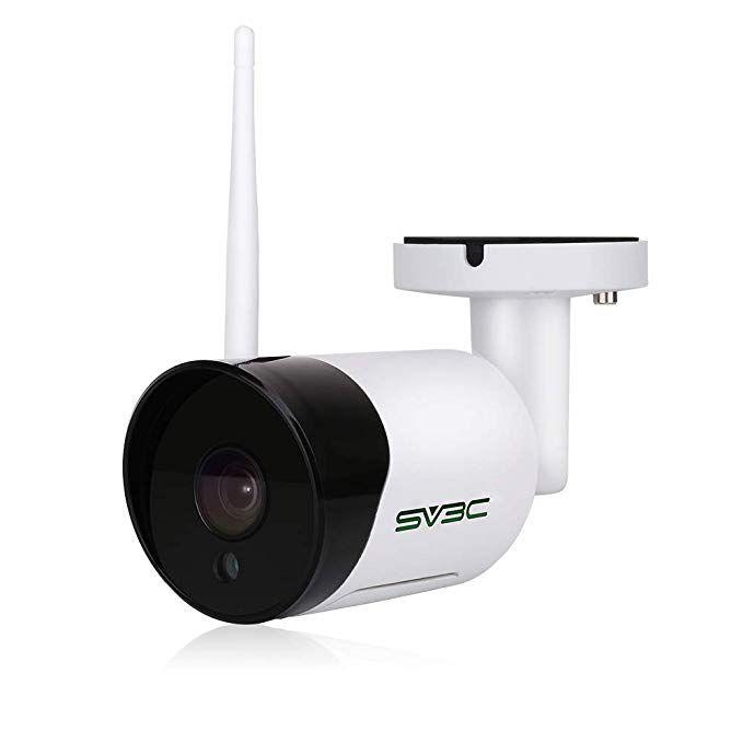 Sv3c Outdoor Wifi Camera 1080p Hd Wireless Security Camera Waterproof Surveillance Cctv Ip Camera With Two Way Audio Ir Led Motion Detection Night Vision Cam Wireless Security Cameras Wifi Camera Wireless