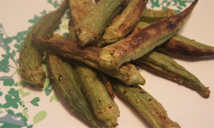 Not So Fried Okra with Scallion Dipping Sauce, 1 points plus: Not So Fries Okra, Ovens Fries Okra, Side Dishes, Dips Sauces, Roasted Okra, Dipping Sauces, Cups Sauces, Points Plus, Scallion Dips