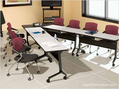 rolling office work tables training furniture flip top nesting casters flex laptop table depot small