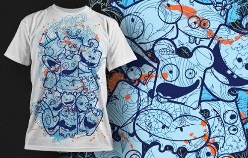 Grafitti T-shirt Design