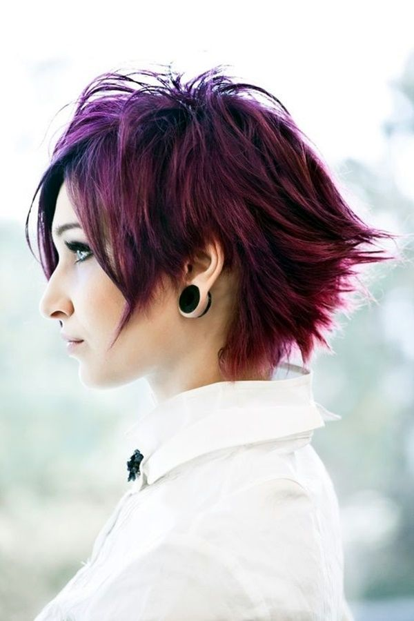 Pleasant 1000 Ideas About Short Punk Hairstyles On Pinterest Buzz Cut Short Hairstyles For Black Women Fulllsitofus