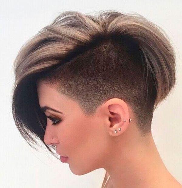 Стрижка боб пикси на короткие волосы
