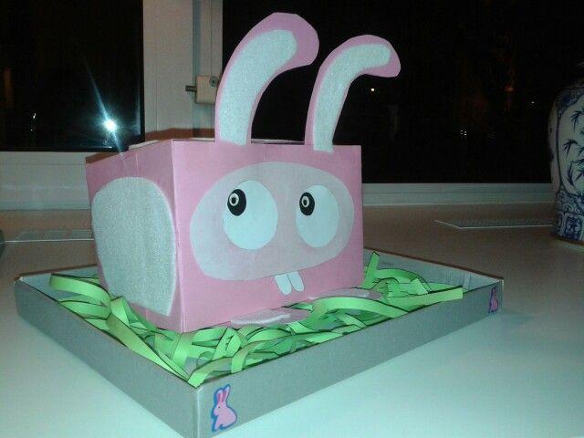 Makkelijke Sinterklaas surprise voor groep 5 met thema konijn