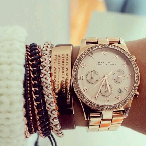 Marc Jacobs watch bracelet set