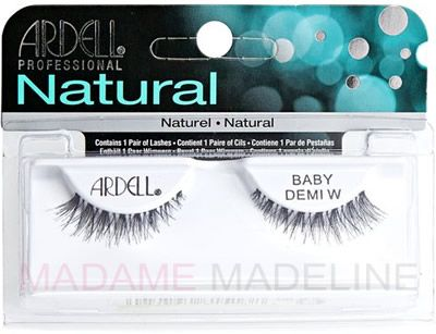 New Festive holiday-ready gorgeous #FalseEyelashes: Ardell Natural Lash Baby Demi Wispies new at Madame Madeline Lashes  #ardell_lashes #madamemadeline