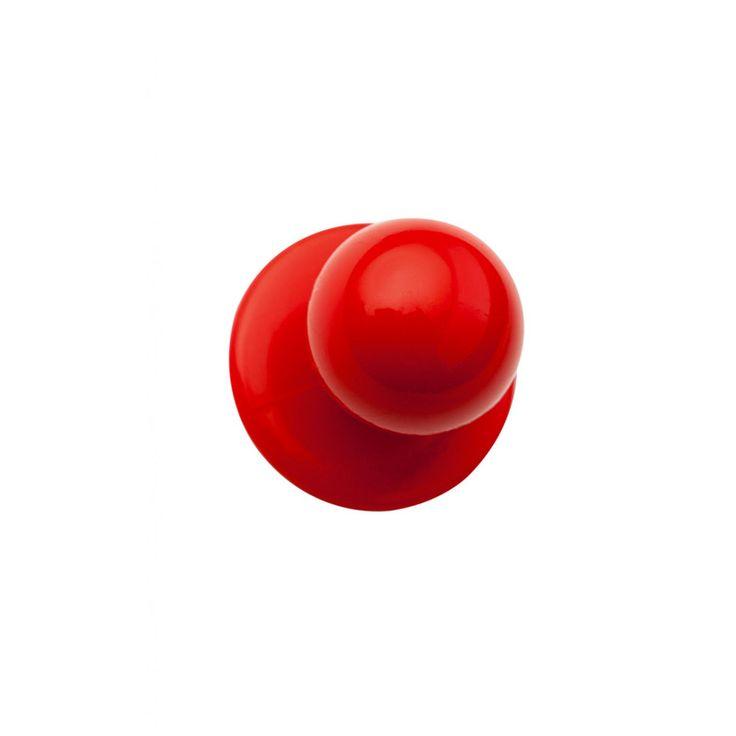 Confezione di bottoni per giacca da cuoco disponibili nel colore rosso. Ogni confezione contiene 10 pezzi.