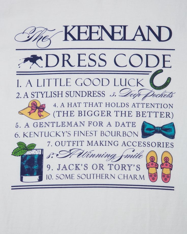 Southern Proper's Keeneland Dress Code