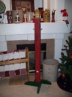 DIY Christmas Stocking Stand... If You Have No Fireplace Or Have Too Many