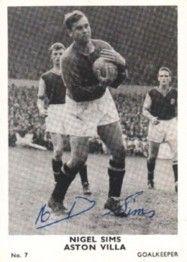 7. Nigel Sims Aston Villa