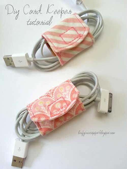 Tissu Cord Keeper - Tutoriel de couture gratuit