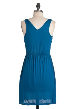 Rainy Day Darling Dress in Teal