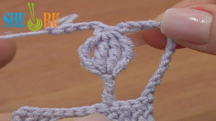 Crochet Cluster On Post How to Tutorial 32 Complex Stitches In Crocheting  http://sheruknitting.com/videos-about-knitting/crochet-for-beginners/item/211-crochet-basics-for-beginners.html Crochet complex stitches with free online video tutorials. In this video we will show you how to crochet a complex stitch that consists of a double treble crochet post and 3-double treble crochet cluster on top of this post.
