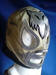 Mascara del Zorro Plateado