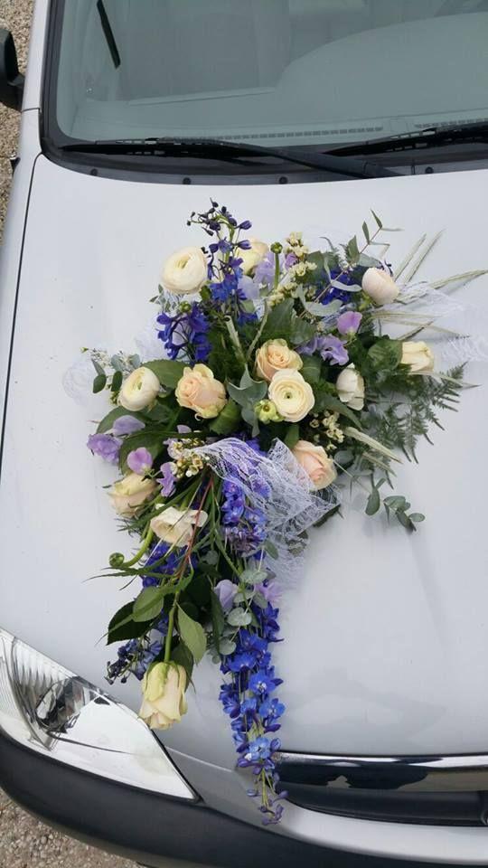 Autotoef voor bruiloft