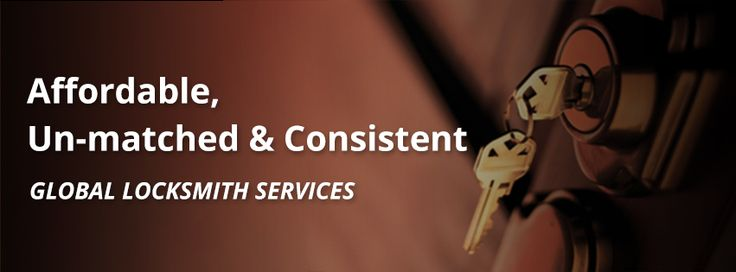 "Global Lock Smith is a Market Leader in providing residential, automobile and commercial locksmith services. We specialize in residential locks, commercial locks, car door unlocking and key made services - covering everything from key cutting to lock picking and much more. 24 hour fast mobile service for your home, car and business. Contact globalocksmith.com for ""Quality locks for your home, car and business."