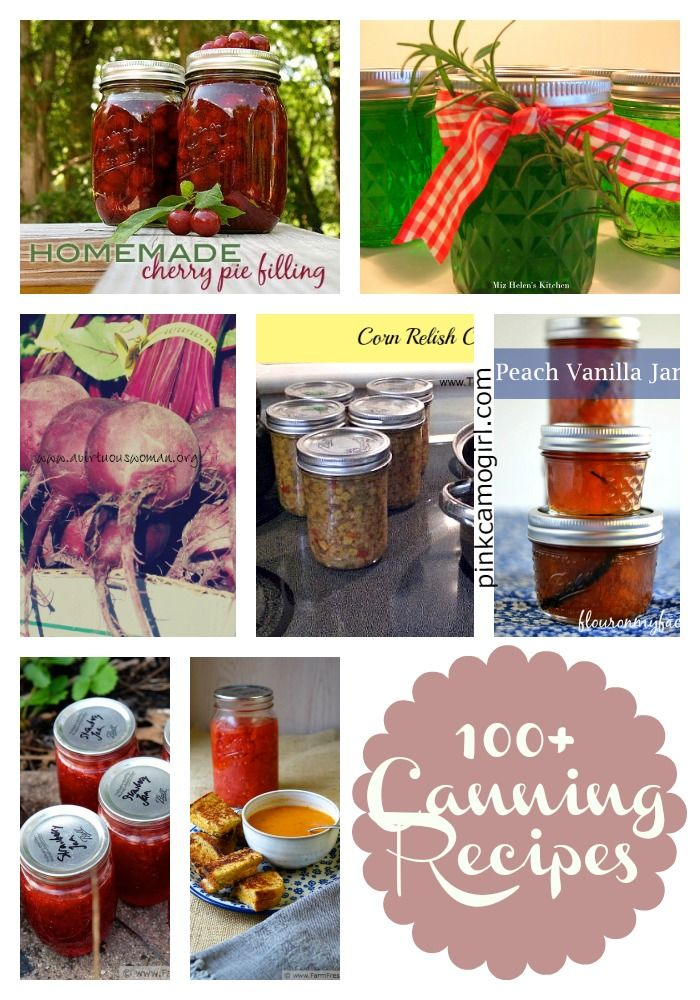 Over 100 Canning Recipes