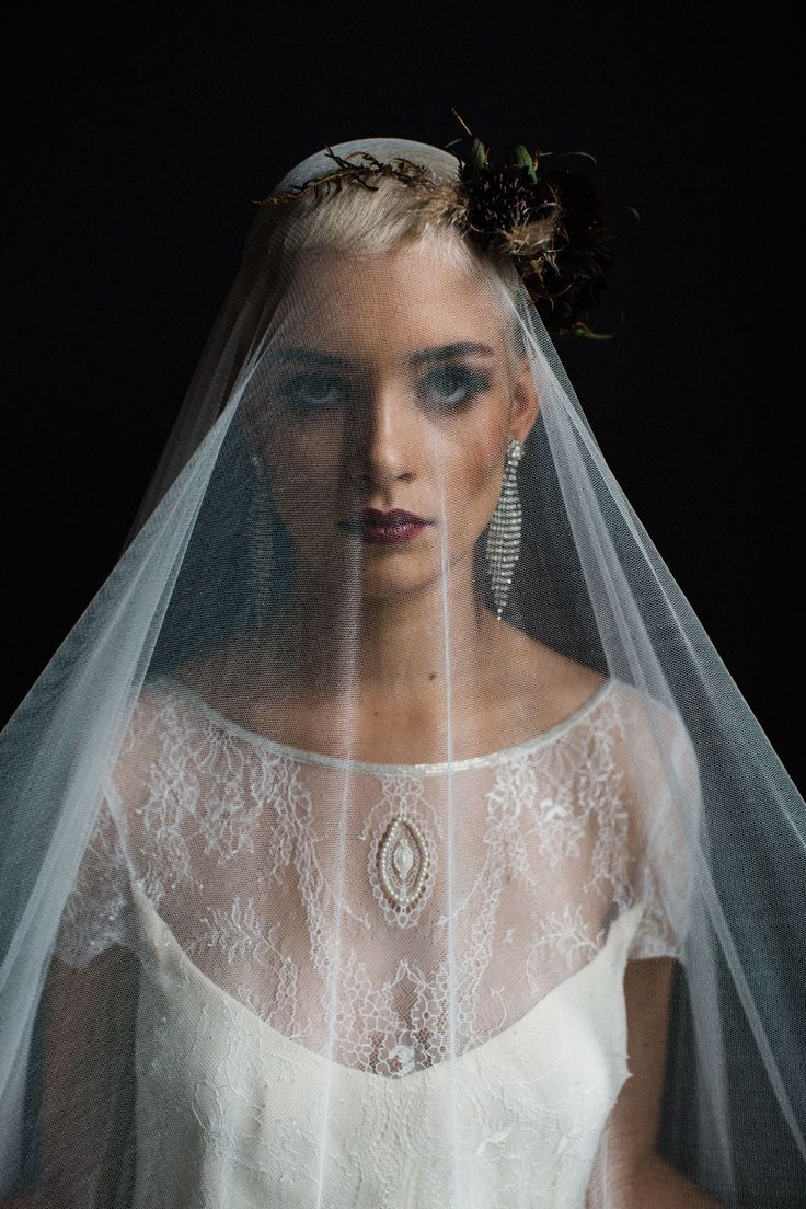 Sienna Von Hildemar 2018 collection of wedding dresses. Made in London  Featuring the Juliette Dress and Alice veil Floral headpiece by @bride_and_bloom