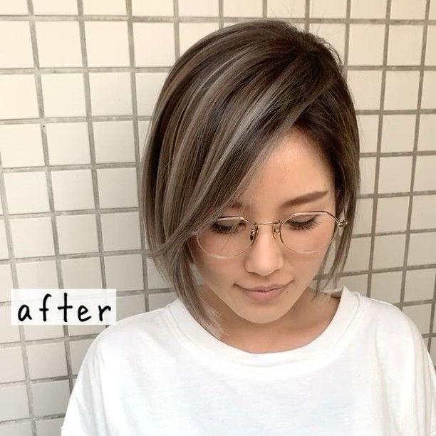 イズミ タカヒロさんはinstagramを利用しています カットはacquaのノリさん カラーはgalaのイズミ 初のコラボデザイン ツヤ感のあるバレイヤージュの魅力 お客様 1人1人にあったデ まとめ髪 ロング 韓国のショートヘア