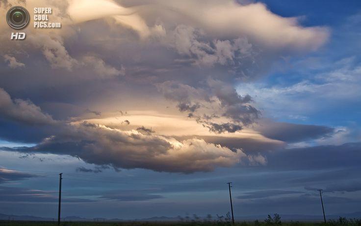 «Снимок из моего окна на скорости 140 км/ч». (Matt Granz)
