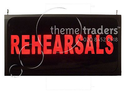 Rehearsals Light Boxes Props, Prop Hire