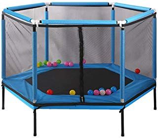 trampolines child safety game fence home indoor bounce bed