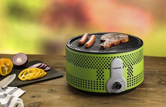 Today Deals 29% OFF Gourmia GBQ330 Portable Charcoal Electric BBQ Grill | Amazon:   Today Deals 29% OFF Gourmia GBQ330 Portable Charcoal Electric BBQ Grill - 90% Smoke Reduction Barbecue with Turbo Fan Removable Electronics Travel Bag | Amazon #TodayDeals #DailyDeals #DealoftheDay - Most people would agree that charcoal grills deliver BIG on flavor. But theyre often messy assembly is time consuming and they can produce a TON of smoke. If only there were a way to get all of that wonderful…