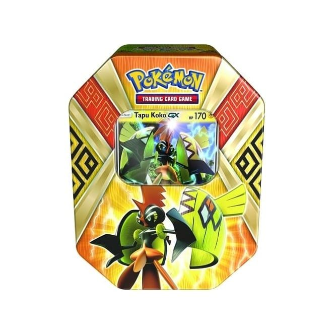 Pokemon Island Guardians Tapu Koko GX Tin