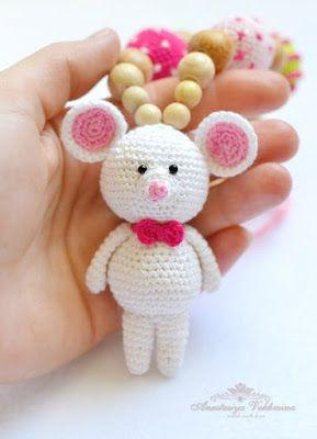 Мышка-игрушка для слингобус | AmiguRoom